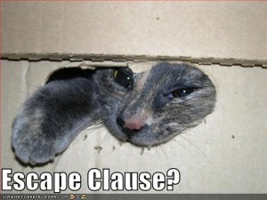 escapeclause